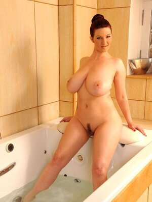 Stunner with milk sacks and besides moreover bum prefers to be fucked nu water jet and besides moreover vibrator